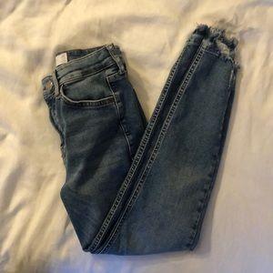Topshop Jamie skinny jeans size W26/L28 PETITE